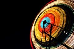 Les lumières du grand huit photographie stock
