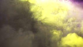Les lumières lasers de clignotant de disco montrent Effets visuels sur l'étape pour la partie de musique d'air ouvert clips vidéos