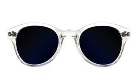 Les lunettes de soleil bleues des femmes Images libres de droits