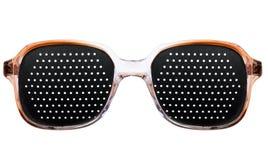 Les lunettes de soleil noires des femmes Photographie stock libre de droits