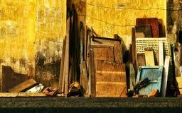 Les ménages abandonnés image libre de droits