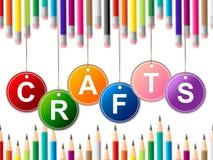 Les métiers de métier indique les arts et l'illustration de dessin illustration libre de droits