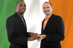 Les mêmes couples de sexe en Irlande Photo libre de droits