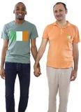 Les mêmes couples de sexe en Irlande Images stock