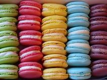 Les macarons Photo libre de droits