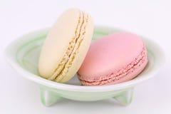 Les macarons français, se ferment  Photographie stock