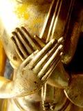 Les mains de Bouddha Images libres de droits