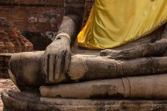 Les mains de Bouddha Photo stock