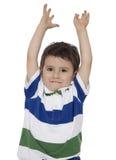 Les mains lèvent et apprécient le soleil Images stock