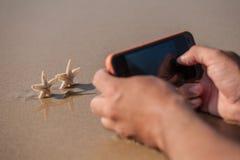 Je photographie des étoiles de mer Photos libres de droits