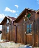 Les maisons du ` s de pêcheurs photo stock