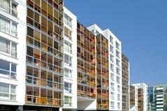 Les maisons vivantes modernes Photos stock