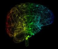 Les maladies dégénératives de cerveau, ` s, ` s de Parkinson d'Alzheimer, illustration de vecteur
