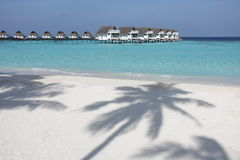 Les Maldives Photo libre de droits