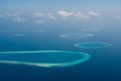Les Maldives Photo libre de droits