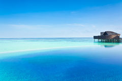 Les Maldives de luxe photos libres de droits