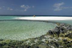 Les Maldives - souhait vous étiez ici images libres de droits