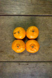 Les mandarines Image libre de droits