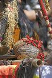 Les maracas d'instruments des Andes Photos stock