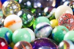 Les marbres se ferment pour un fond Images libres de droits