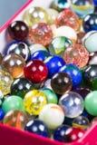 Les marbres se ferment pour un fond Photographie stock