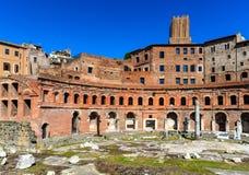 Les marchés de Trajan, Rome Photos libres de droits