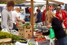 Les marchés des agriculteurs Image libre de droits