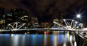 Les marins jettent un pont sur à Melbourne Photos stock