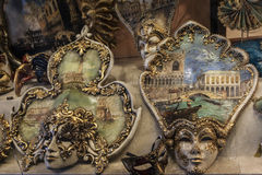 Les masques de Venise Photos stock