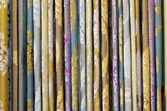 Les matériaux de rideau images libres de droits