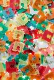 Les meilleures étiquettes de date de couleur Photo stock