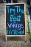 Les meilleures ailes Image stock