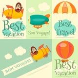 Les meilleures vacances Images stock