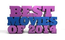 Les meilleurs films de 2014 Illustration de Vecteur