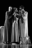 Les membres de Yevgeny Panfilov Ballet Studio de Perm exécutent Romeo et Juliet pendant l'IFMC le 22 novembre 2013 à Vitebsk, soit Images libres de droits