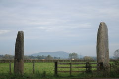 Les Menhirs De Epoigny Stock Photography