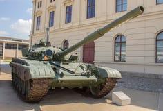 Les militaires échouent T-72M allemand (NVA) photos libres de droits