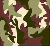Les militaires de marécage camouflent Photos stock