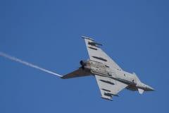 Les militaires voyagent en jet sur traning Photos libres de droits