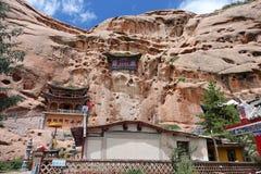 Les mille cavernes de Bouddha photos libres de droits