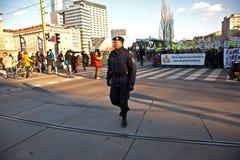Les milliers démontrent Images libres de droits