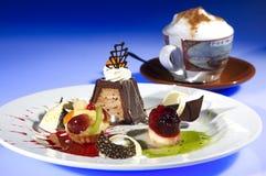 Les mini desserts Photos libres de droits