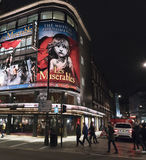 Les Miserables Musical at Queens Theatre London London UK Stock Photography