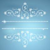 La vue avec des monogrammes pour la conception et décorent. Photo stock