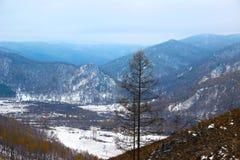 Les montagnes Photo libre de droits