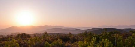 Les montagnes Image stock