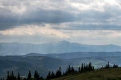 Les montagnes Image libre de droits