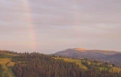 Les montagnes carpathiennes 30 Photos stock