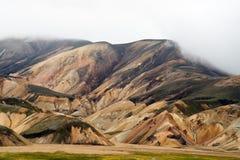 Les montagnes colorées de Landmannalaugar photo stock