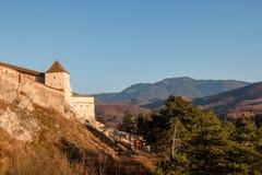 Les montagnes d'été aménagent en parc en Transylvanie, Roumanie photographie stock libre de droits